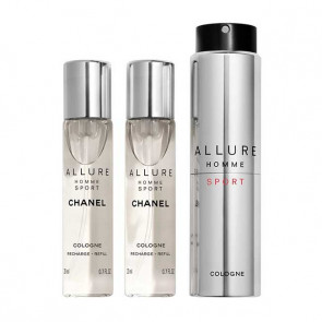 Chanel Allure Homme Sport Cologne Travel Spray nachfüllbar