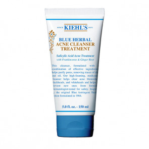Kiehl's Cleanser & Toner Blue Herbal Acne Cleanser Treatment