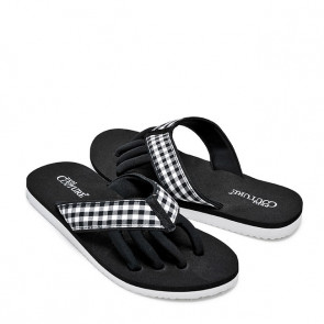 Pedi Couture Black/White Gingham Print
